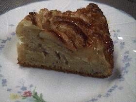りんごとバナナのケーキ