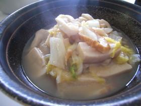 ◆白菜と高野豆腐の煮浸し