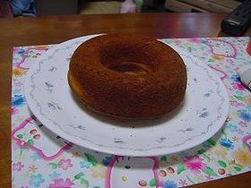 バナナヨーグルトリングケーキ