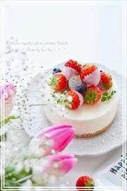 ♡ ホワイトチョコムース♡ の写真