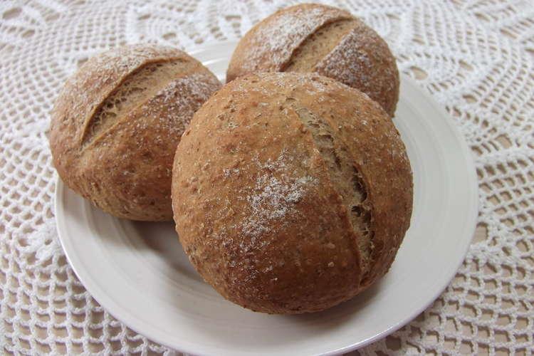 レシピ ライ麦 パン