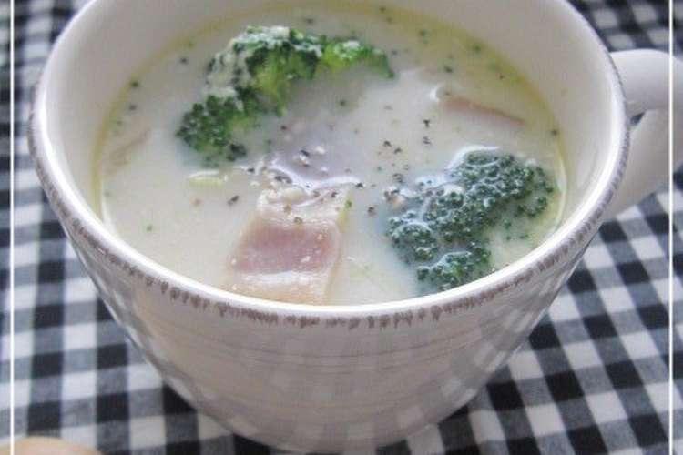 スープ 牛乳