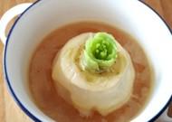 レンジで簡単☆丸ごとカブのチーズスープ