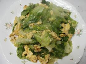 菜の花色の炒め物