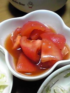 トマトのサラダ漬け