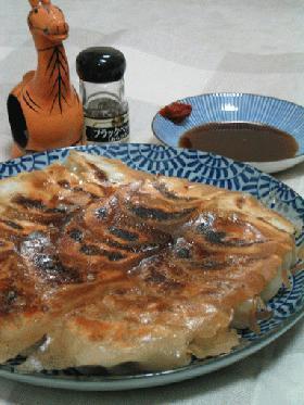 焼き餃子(ニラ多め)