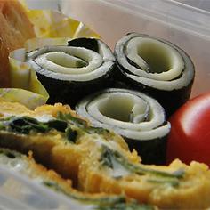 海苔ぐるぐるチーズ☆お弁当のすき間用