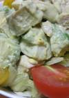 ボリューミーなアボガドサラダ