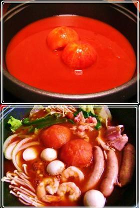 *☃*❤ 冬のトマト鍋 ❤*☃*