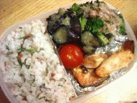 鮭のマヨネーズ焼き弁当