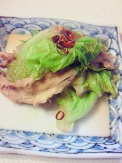 簡単☆彡白菜と豚バラ肉の重ね煮