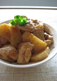 鶏肉と長芋の照り煮