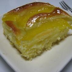 しっとりふんわり簡単な桃缶ケーキ