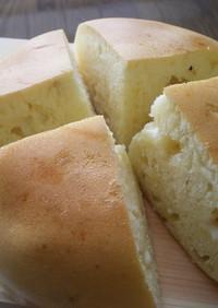 チーズ入りパンケーキ★3合炊き炊飯器で