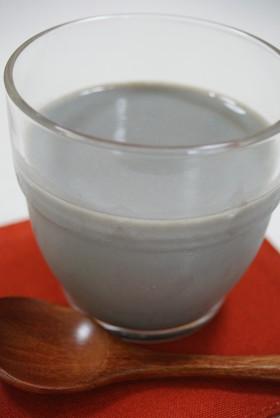 黒ごま豆乳プリン