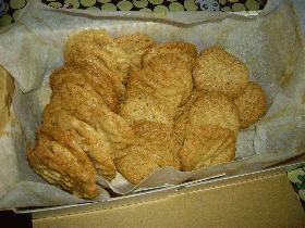 きなこのさくさくクッキー(卵、牛乳なし)
