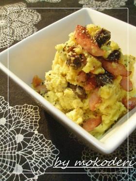 さつま芋とクリームチーズのデパ地下サラダ