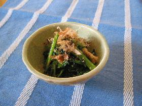 定番こまつ菜のおひたし(炒め)