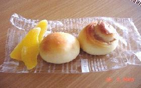 朝食にパン!Part3マンゴーパン&マロンパン
