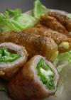 お弁当に♡ししとうチーズの甘辛豚肉巻き