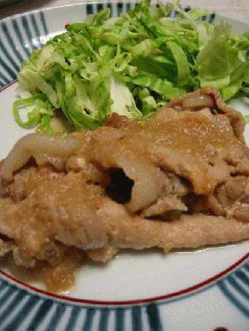 父から教わった★豚肉の生姜焼き