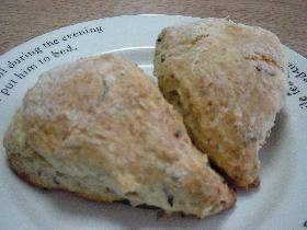 **apple tea scone**