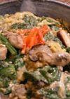 麺つゆで簡単♪牡蠣と春菊の卵とじ丼