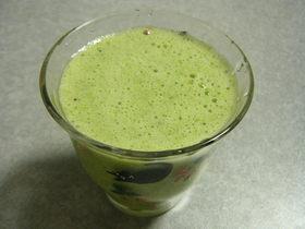 免疫力UP★ホウレンソウ豆乳の飲み物