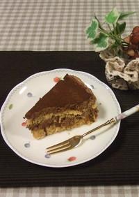 オーブンなし!スイスロールでチョコケーキ