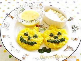 離乳食❤後期*ハロウィン☆パンプキンリゾット&スープ*