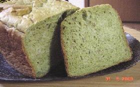 朝食にパン!Part4抹茶きんとき食パン