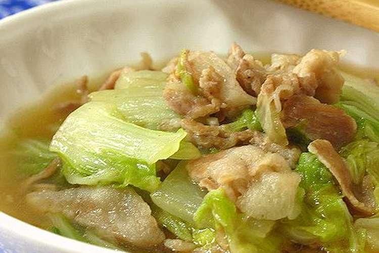 と の 白菜 うま煮 豚肉 【料理家さんの定番レシピ】第2話:白菜と豚肉のうま煮を、翌日は春雨たっぷり鍋にアレンジ♪