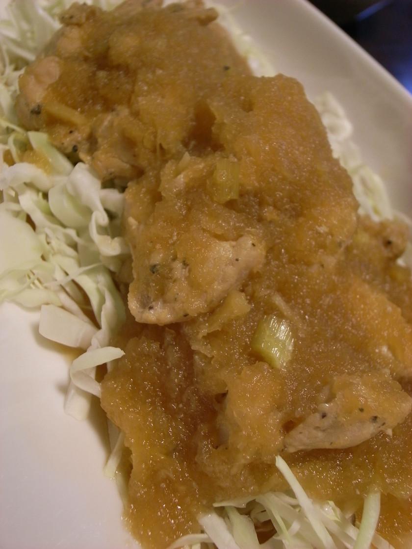 ☆鶏ムネ肉のさっぱり大根おろし煮☆