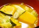 かぼちゃとキャベツのお味噌汁