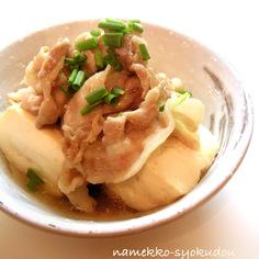●超簡単!!材料3つ☆煮るだけの肉豆腐●