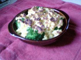 かりっ!ふんわり!ブロッコリーと高野豆腐クランブル