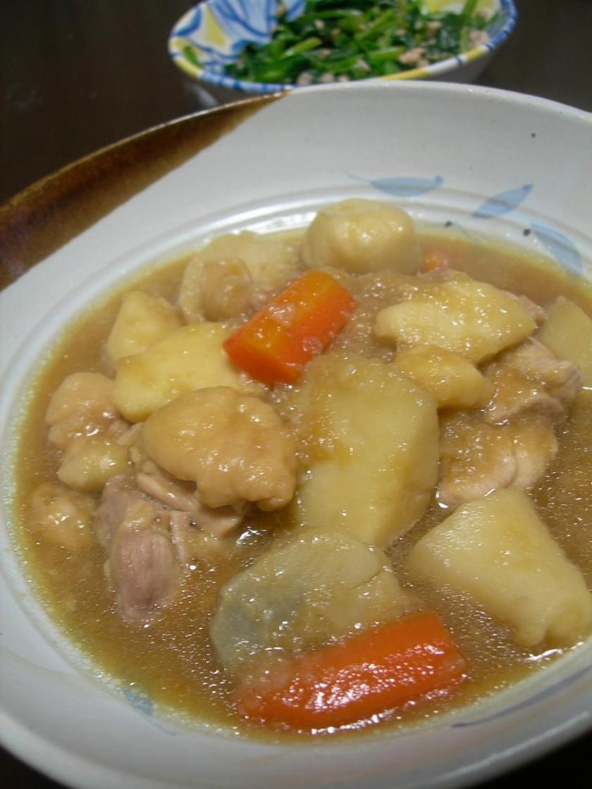 あったかとろとろ☆里芋と鶏のおろし煮