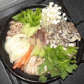 韓国風きのこ鍋
