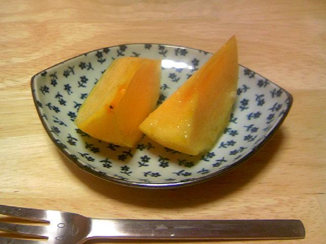 大人のデザート 柿の洋酒漬け