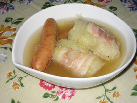 レンジで簡単☆あったかスープ