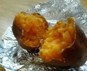 オーブントースターで簡単☆ホクホク焼き芋