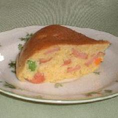 日曜日のお昼は 炊飯器でカレーケーキ♪ 激うま!