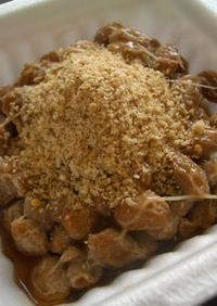 簡単☆納豆の食べ方♪すり胡麻納豆
