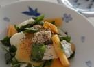 和食に合う♡柿とモッツァレラのサラダ
