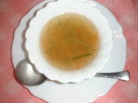 3分クッキング ジュリエンヌスープ