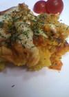 秋の味覚集合★さつま芋のきのこソースかけ