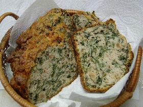 スピナッチ・ナッツ・ブレッド(Spinach Nuts Bread)