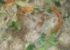 食べるSOUP☆~肉団子と大根のスープ~