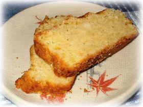 マーマレードおからケーキ