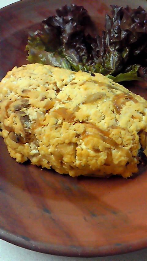 ベジタリアンの豆腐ローフ